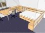 3D návrh dětský pokoj