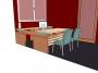 3D návrh kancelář