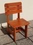 židle dřevo BLACK