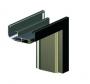 kovová obložková zárubeň 2křídlá 120-200