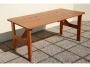 stůl dřevo BLACK 200cm